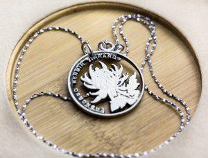 medallion closeup